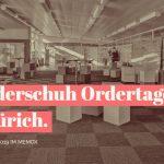 2019 02 Kinderschuh Ordertage in Zürich im Memox