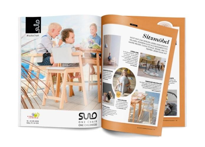 Sitzmöbel aus der Möbelstrecke der Ausgabe Childhood Business 09-10 2019.