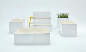 Neue Möbel für die in Squares umbenannten Kinderschuh Ordertage