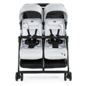 """Der Zwillingsbuggy Ohlala Twin kostet 249 Euro und ist in den Farben """"BlackNight"""", """"Paprika"""" und """"Silver Cat"""" erhältlich."""
