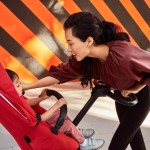 Stokke® Xplory® X Ruby Red Stroller In Setting