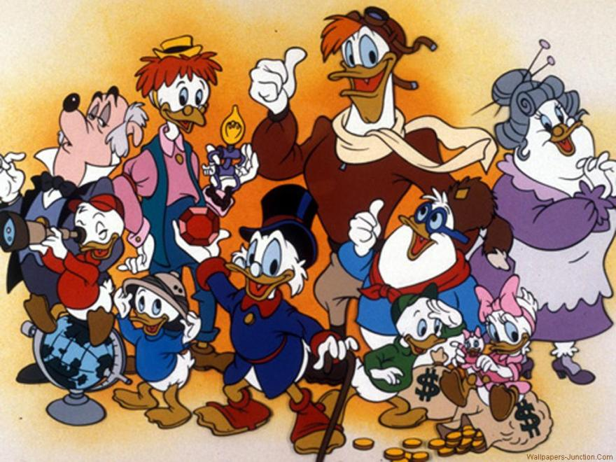 It's a bird! It's a plane! It's DuckTales!