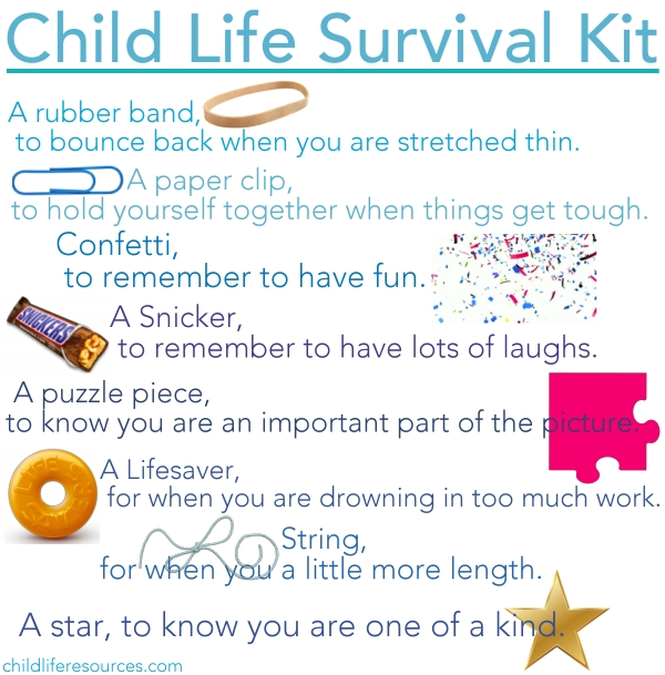 Child Life Survival Kit