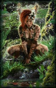 Ashalla - Trexian Warrior