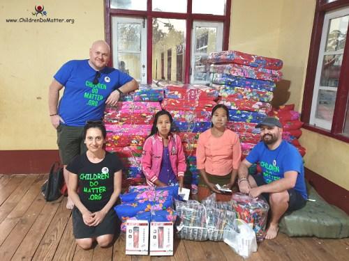altri beni di prima necessita' per orfanotrofio sasana - children do matter