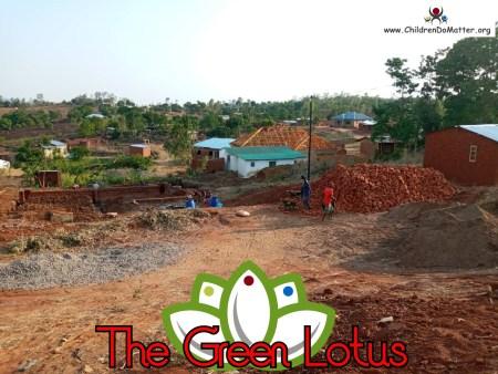 costruzione dell'orfanotrofio casa di accoglienza the green lotus a blantyre malawi - children do matter - 3