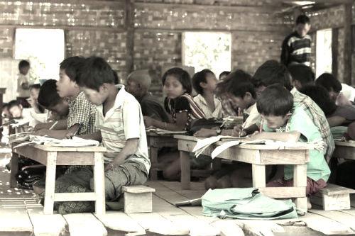 educazione in birmania