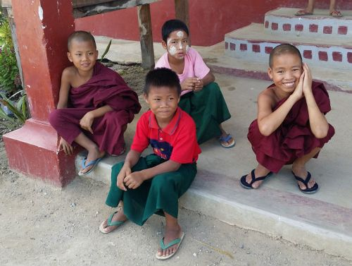 monk orphans sasana yaung chi orphanage nyaung shwe inle lake myanmar - children do matter