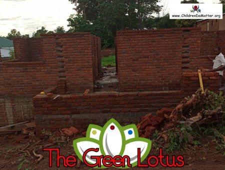 the making of the green lotus orphanage in blantyre malawi - children do matter - 14