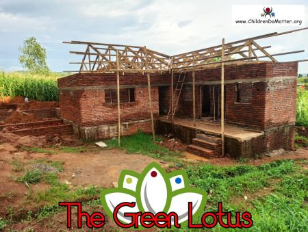 the making of the green lotus orphanage in blantyre malawi - children do matter - 17