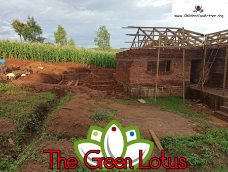 the making of the green lotus orphanage in blantyre malawi - children do matter - 18