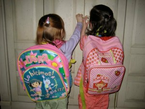 Backpack fun! Photo: PPW