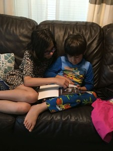 Shared family reading creates shared memories! ~ Photo:PPW