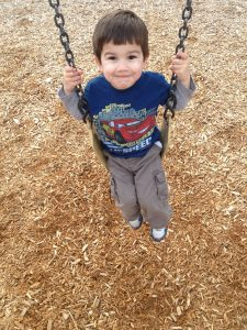 The playground should be filled with smiles! Photo: LSG