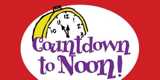 Image result for countdown to noon