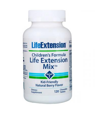 Children's Formula Life Extension Mix, Natural Berry – 120 chewable tabs