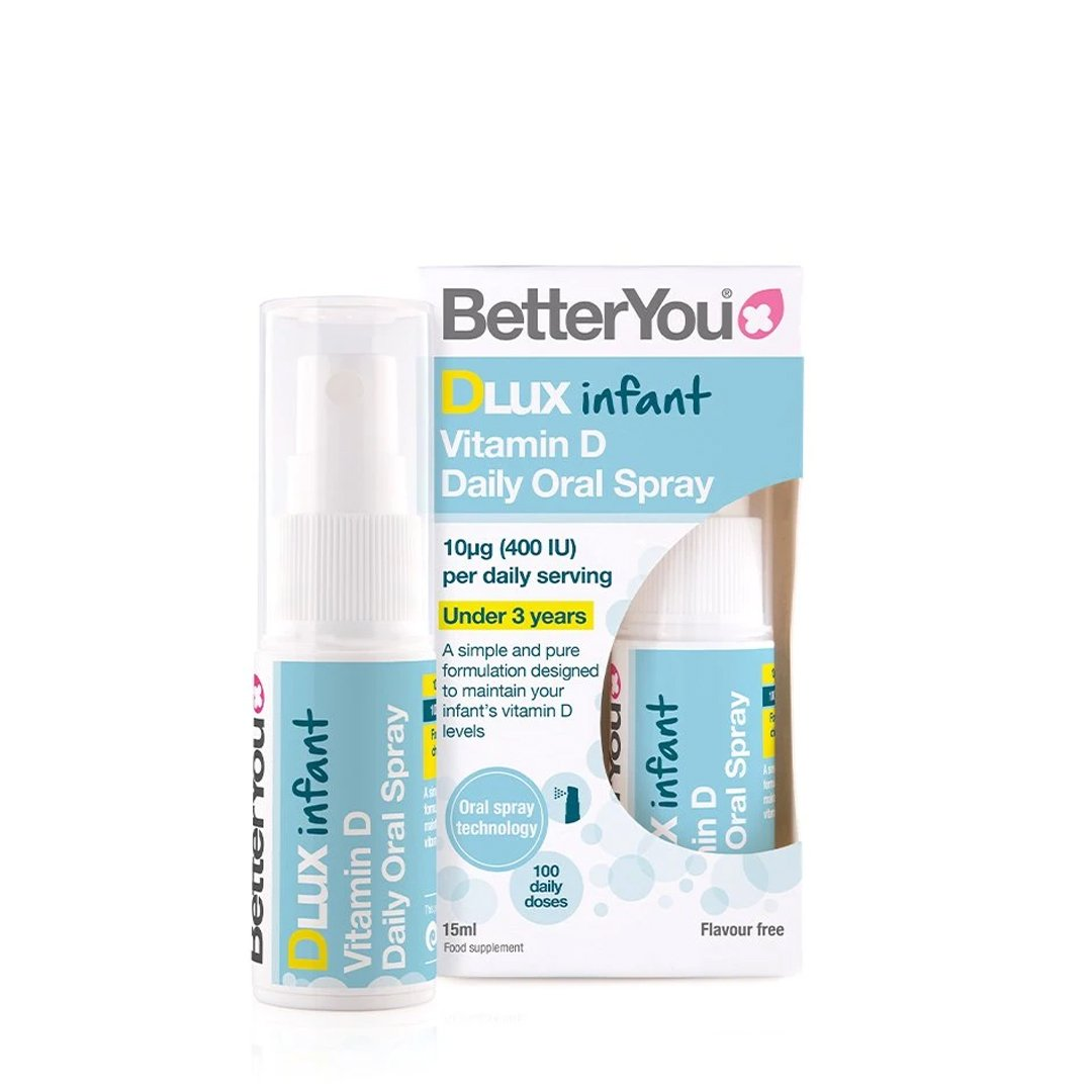 BetterYou DLux Infant Daily Vitamin D Oral Spray – 15 ml
