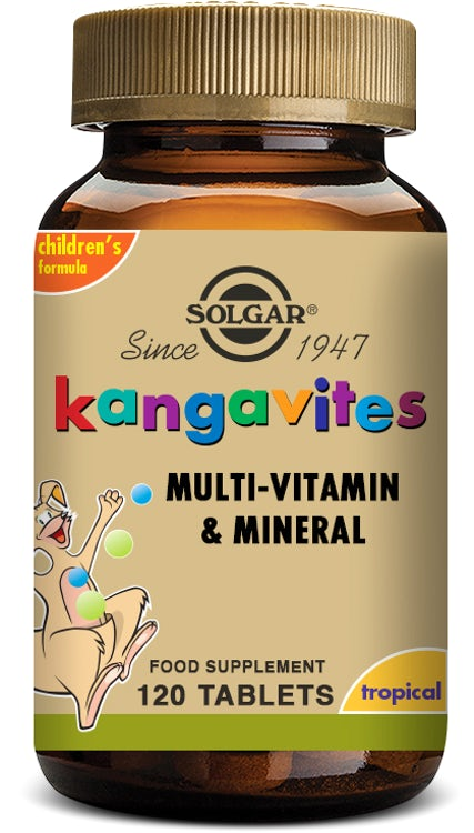 Kangavites Bouncing Berry Complete Multivitamin and Mineral Formula Chewable 120 Tablets