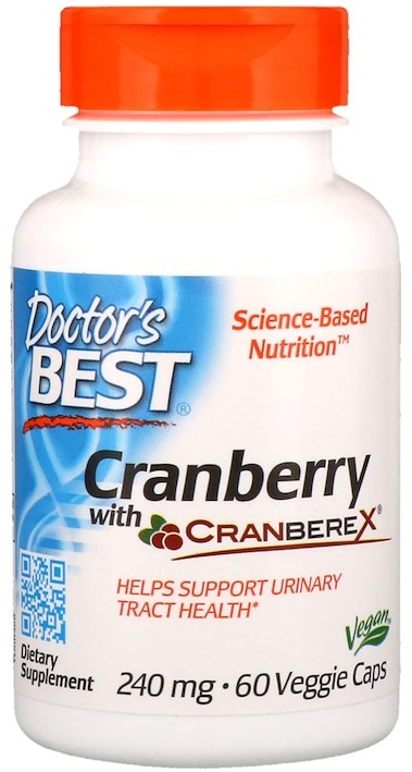 Cranberry with Cranberex, 240mg – 60 vcaps