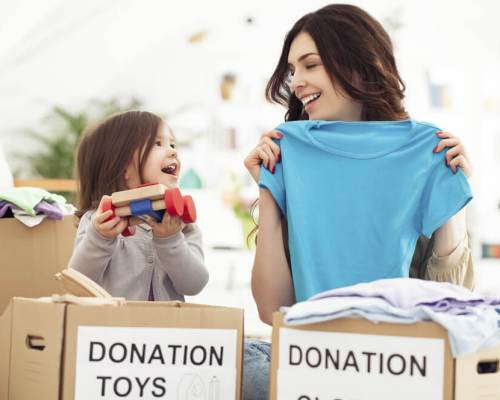 Donate your old and spare toys to children in need