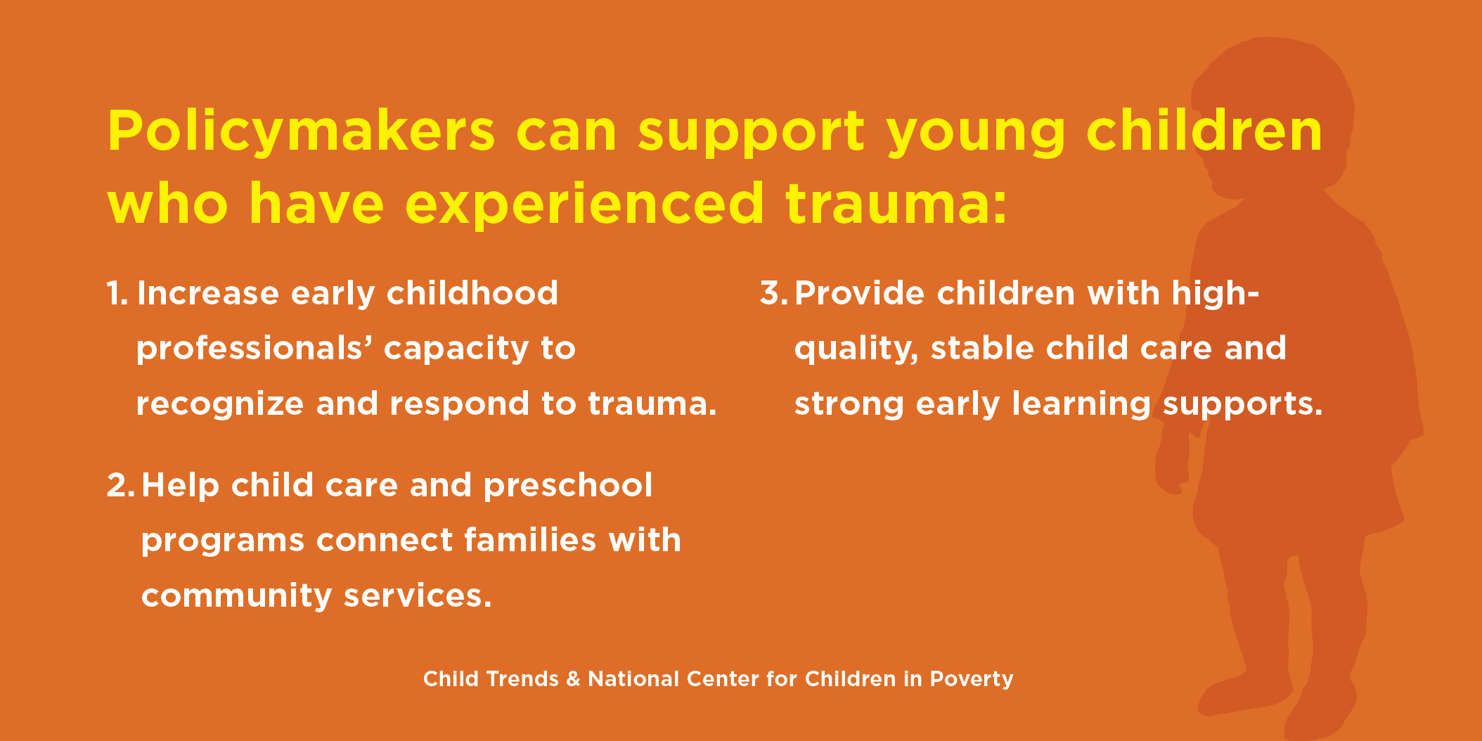 Early Care And Education Can Help Young Children Overcome