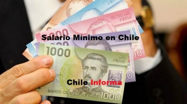 Salario mínimo en Chile