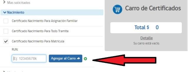 Registro Civil de Chile