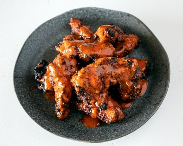 pumpkin spice chile wings