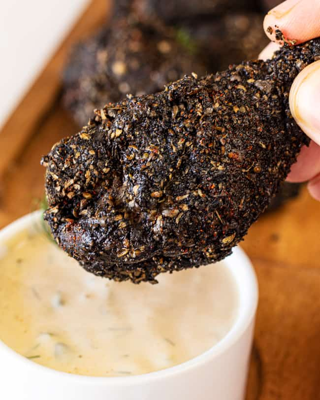 dill dip for the wings