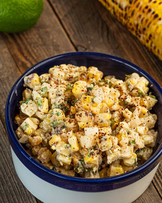 creamy corn salsa
