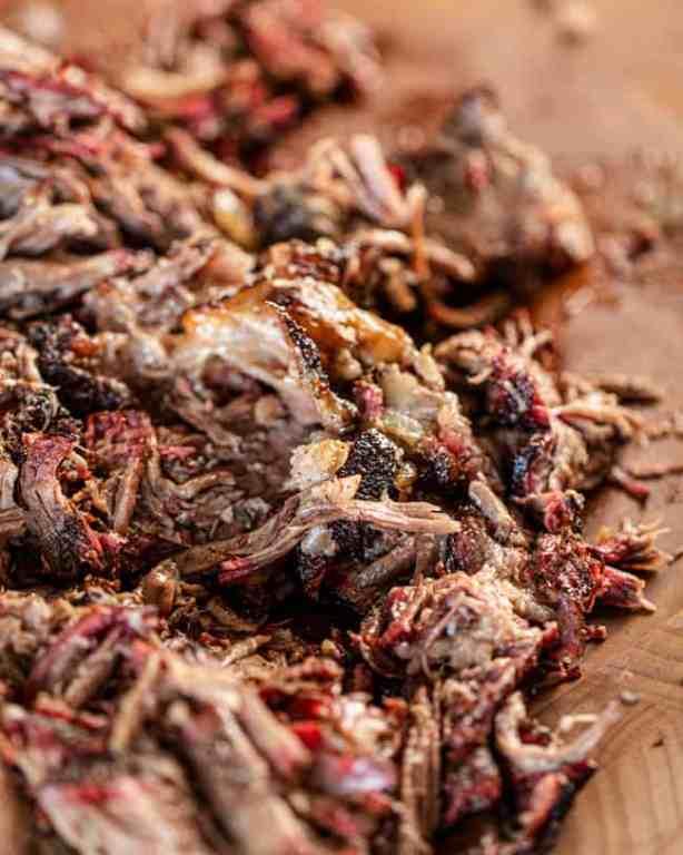 spiced shredded beef chuck roast
