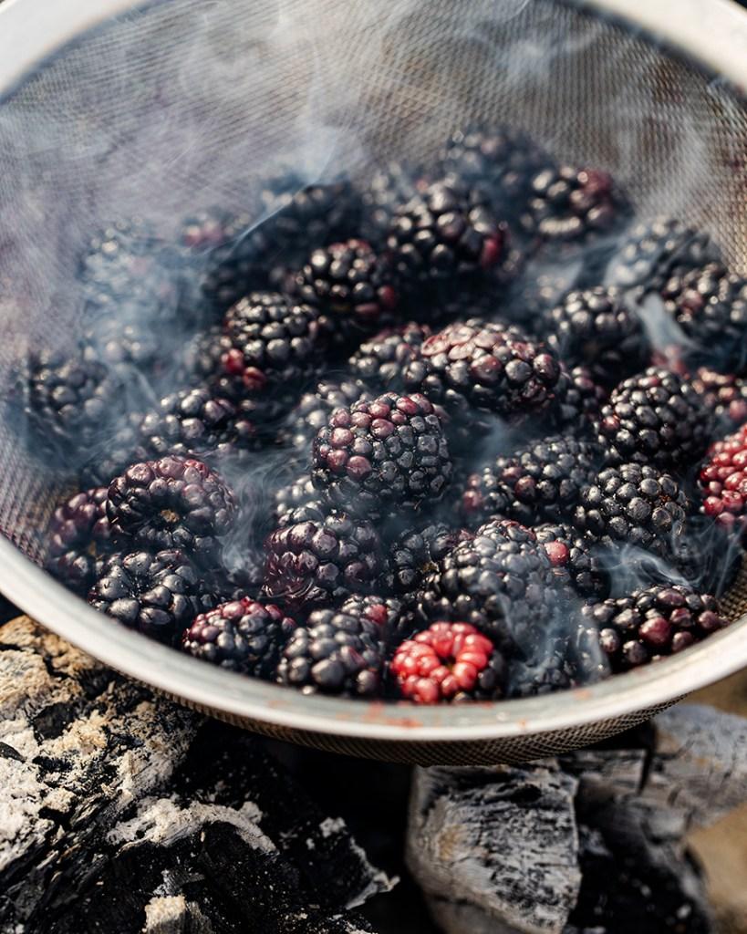 grilling berries