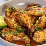 garlic chipotle chicken wings
