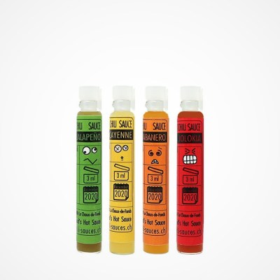 Pure Chili Hot Sauce Minipack
