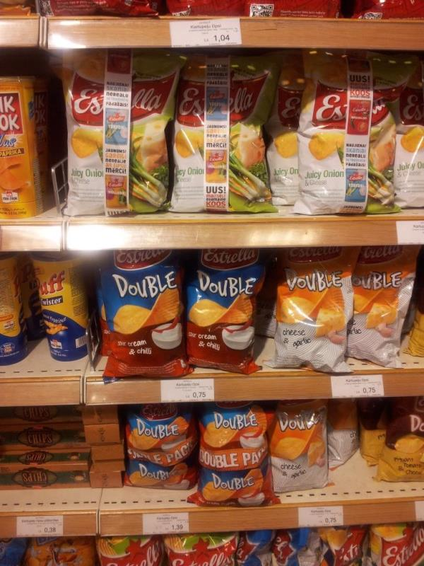 Potato Chips in Latvia, 2012