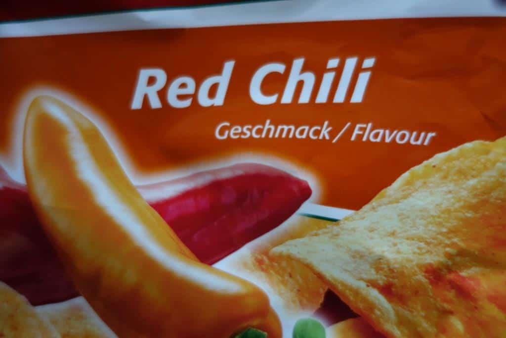 'Red Chili' Chipsgeschmack