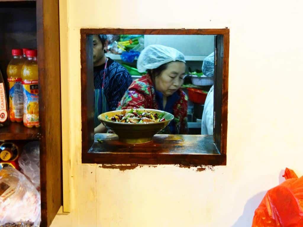 Like at Mama's - Zhang Mama Sichuan Restaurant in Beijing