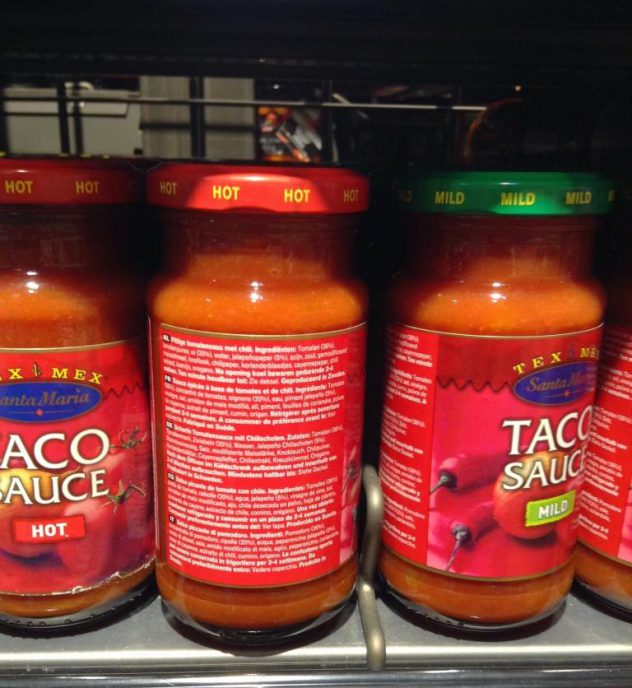 """Taco Sauce""... of course with jalapeño"