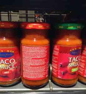 """Taco Sauce"" - natürlich mit Jalapeño"