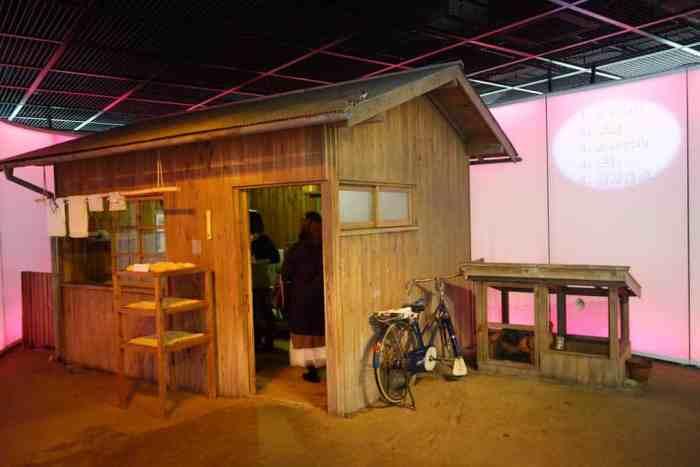 Reproduktion der Hütte, in der die Cupnoodles-Geschichte begann