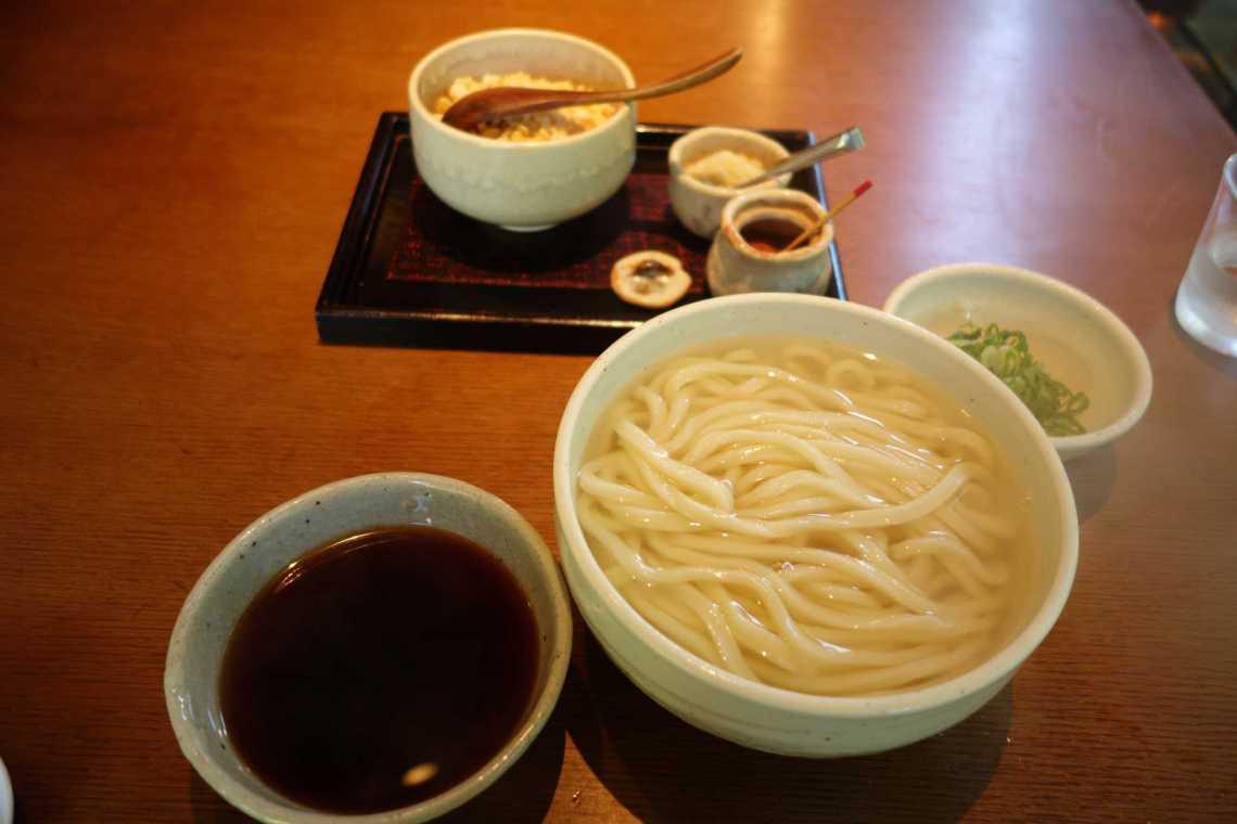 Kamachiku, Kama-age Udon Set