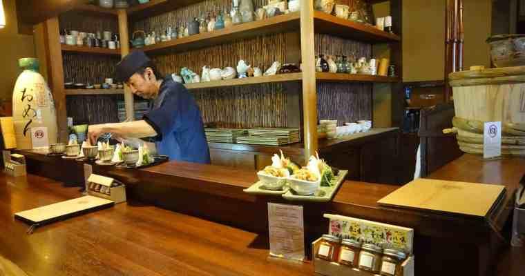 Auf der Spur von Würze in Japan 10: Omen, Kyoto