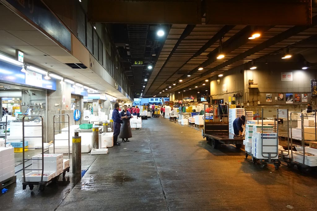 Zentraler Städtischer Grossmarkt, Osaka