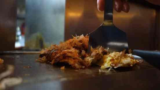 Osaka: Okonomiyaki