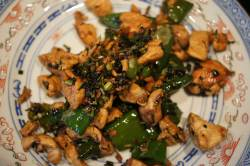 Chicken with Chilli and Chun