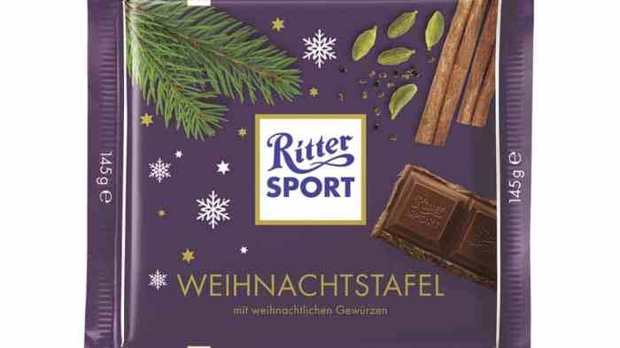 Ritter Sport Christmas Bar