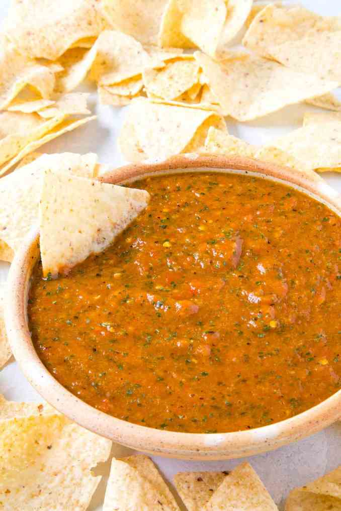 Roasted Mango-Habanero Salsa - Recipe - Chili Pepper Madness