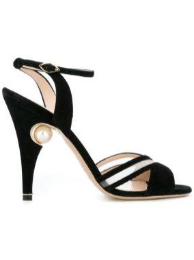 Nicholas Kirkwood 105mm 'Penelope' cross-strap sandals