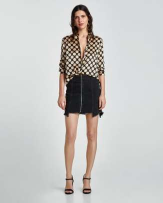 Zara Silk Blouse £69.99