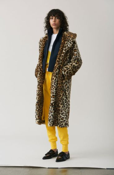 Ganni Long Faux Fur Coat £380
